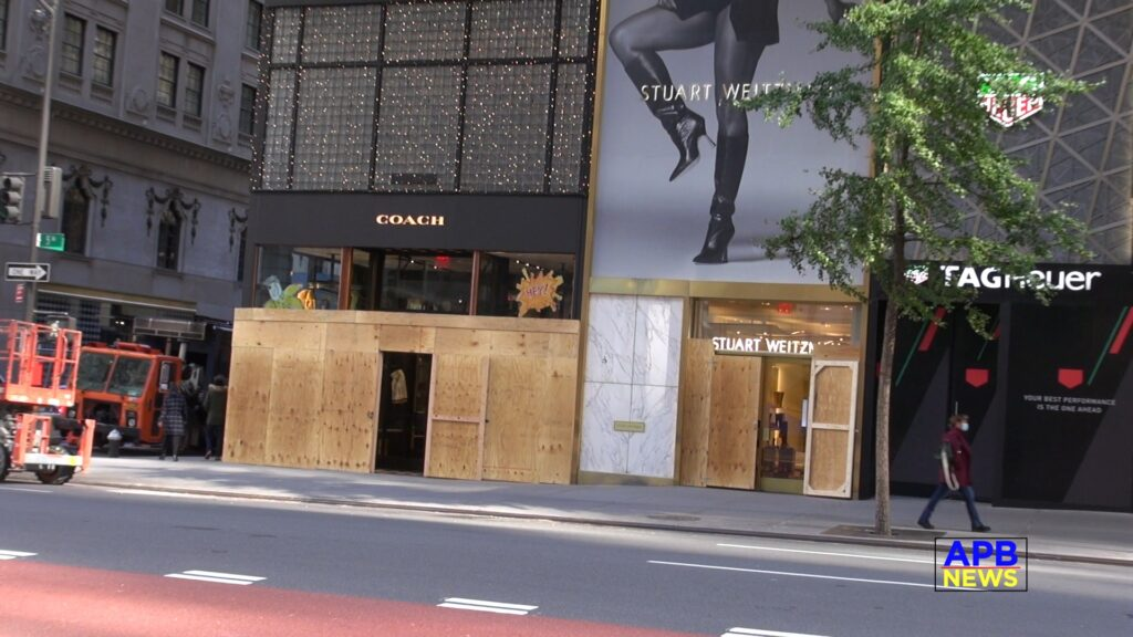 Not this Again – Midtown Manhattan Stores and hotels are boarding up ahead of 2020 presidential election